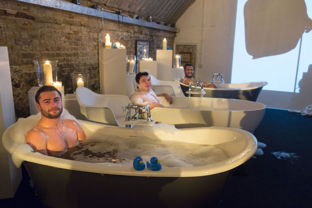 The Bathstore Bubbles Bath Bar Pop Up Event