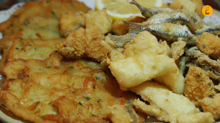 Fritura (10€) restaurante Triana Madrid