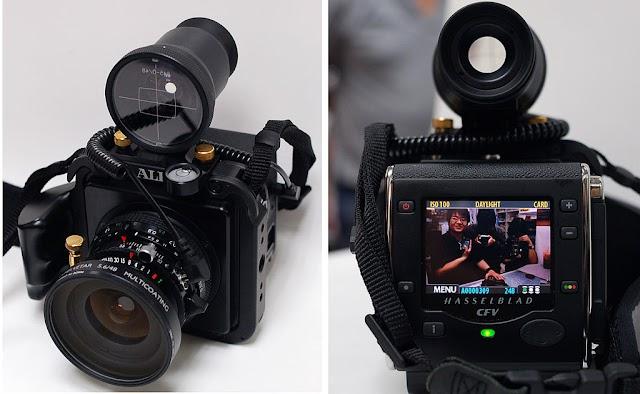Hasselblad announces a 400-megapixel H6D-400c camera for medium format recording