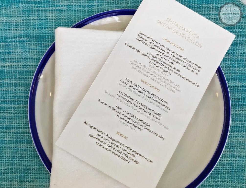 Anantara Vilamoura Algarve Resort Reveillon Restaurante Ria