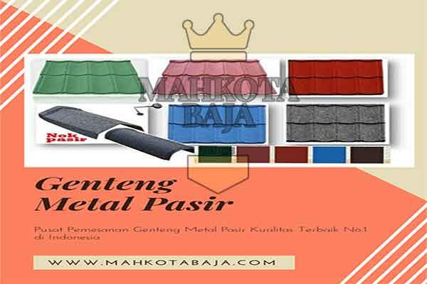 Harga Genteng Metal Pasir Jakarta Pusat