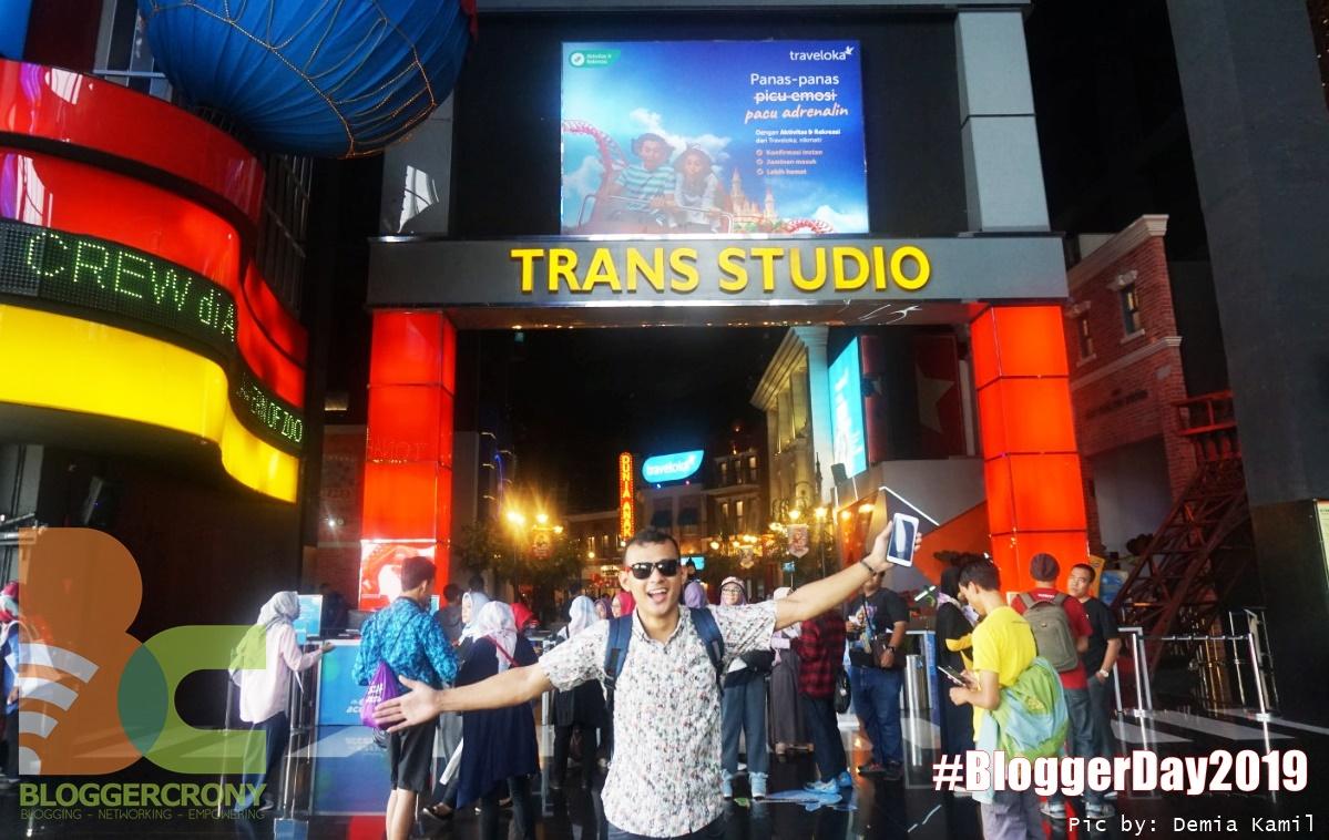 Keseruan Blogger Day 2019 Pecah di Wahana Trans Studio Bandung