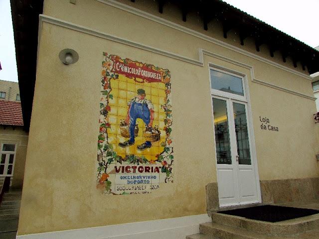 Antigos Azulejos da Real Companhia na Casa da Arquitetura em Matosinhos