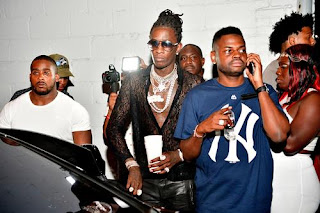 Young Thug Flexes By Showing Off His Luxury Car Collection