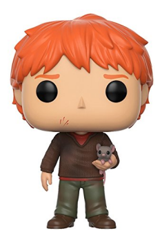Ron Weasley with Scabbers Funko Pop