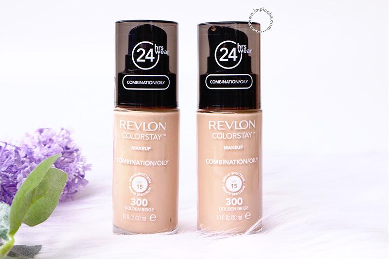 Revlon Colorstay Combination/Oily shade 300 Golden Beige
