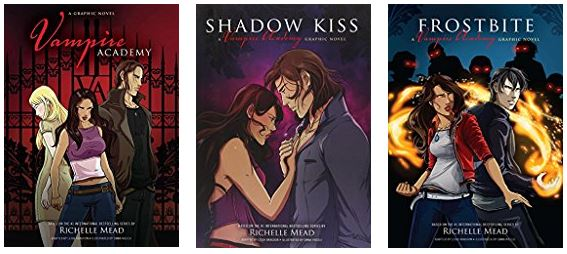 Ms Martin Teaches Media Book Review Vampire Academy Graphic