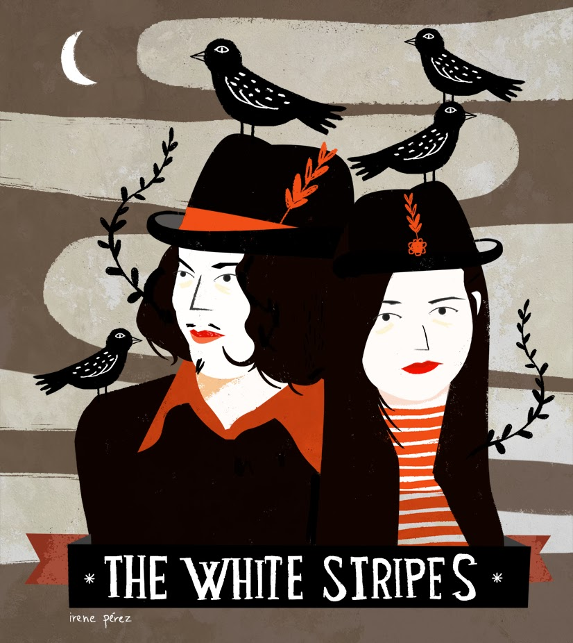 The White Stripes - Fell In Love With A Girl Lyrics.