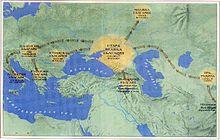 Прабългарите- миграции в западна Евразия и Европа