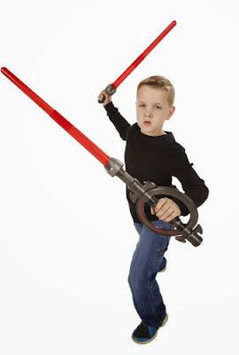JUGUETES - STAR WARS Rebels  Sable 3 en 1 | Inquisitor Lightsaber  Espada Láser de El Inquisidor  Producto Oficial | Hasbro A8559 | A partir de 4 años