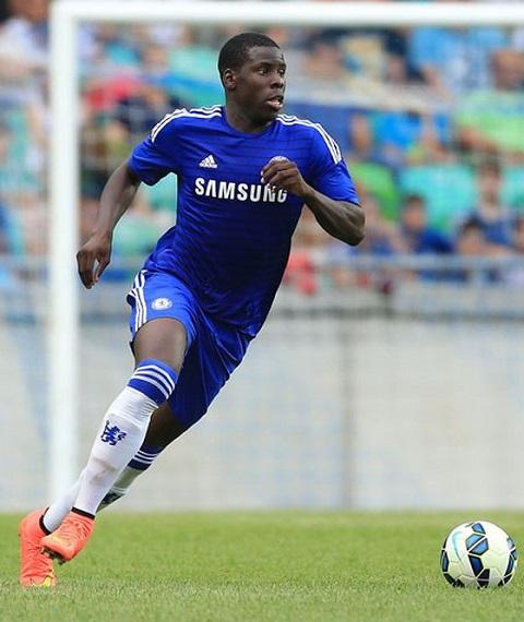 Cầu thủ Zouma đã bị tước số áo tại CLB Chelsea