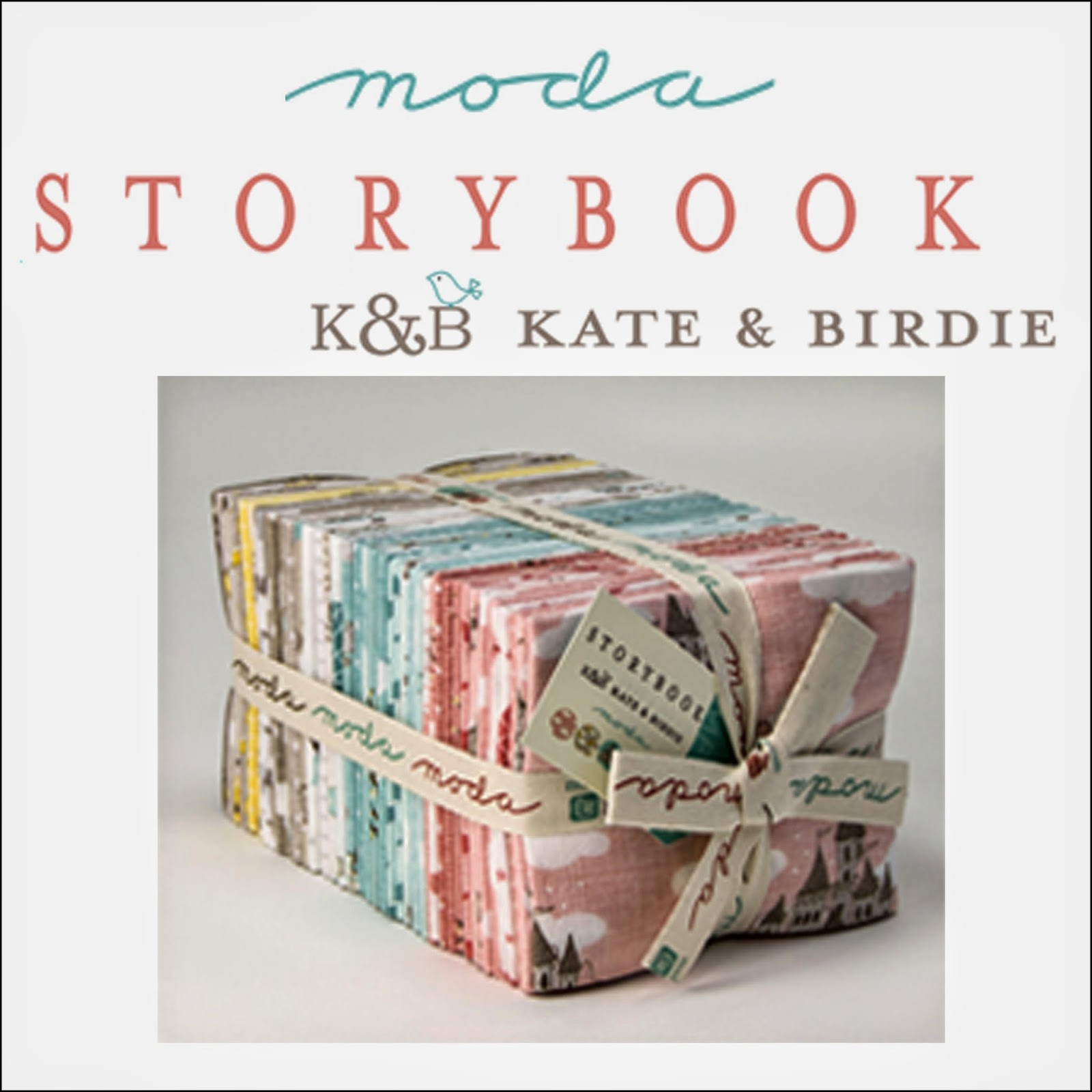Moda STORYBOOK STORY BOOK Quilt Fabric by Kate & Birdie