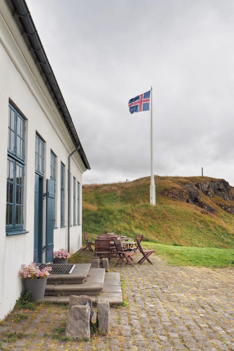 Randonnée sur l'île de Viðey à Reykjavik