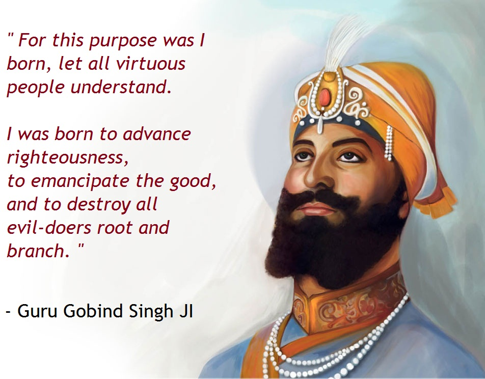 top quotes by guru gobind singh guru gobind singh quotes shri