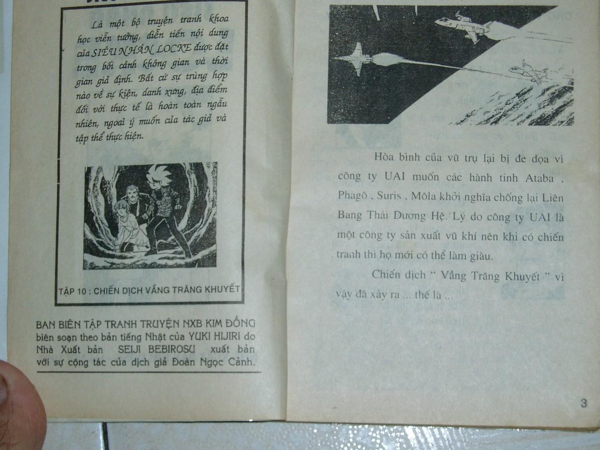 Siêu nhân Locke vol 10 trang 1
