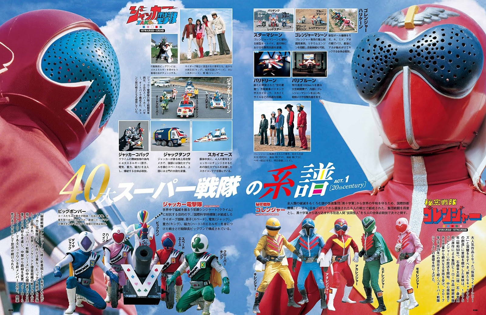 Harits Tokusatsu   Blog Tokusatsu Indonesia: Super Sentai Official