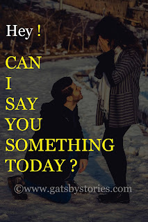 Hey can i say you something today