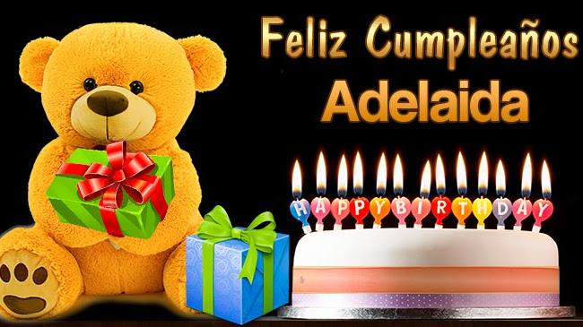 Feliz Cumpleaños Adelaida