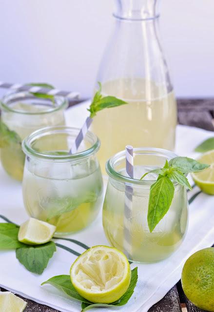 Basil Lime Lemonade