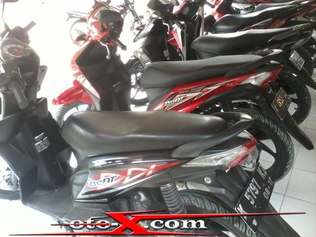 BEAT HITAM 2012 DiJUAL Motor BEKAS HONDA Tahun Plat K Harga Murah