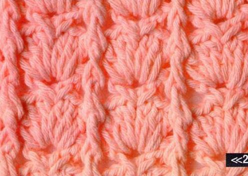Patrón 1063 Punto Tupido a Crochet