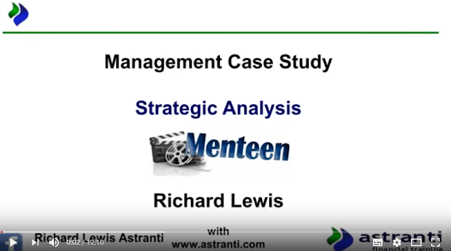 Strategic Analysis of MCS February 2017 - Management Case Study - Menteen