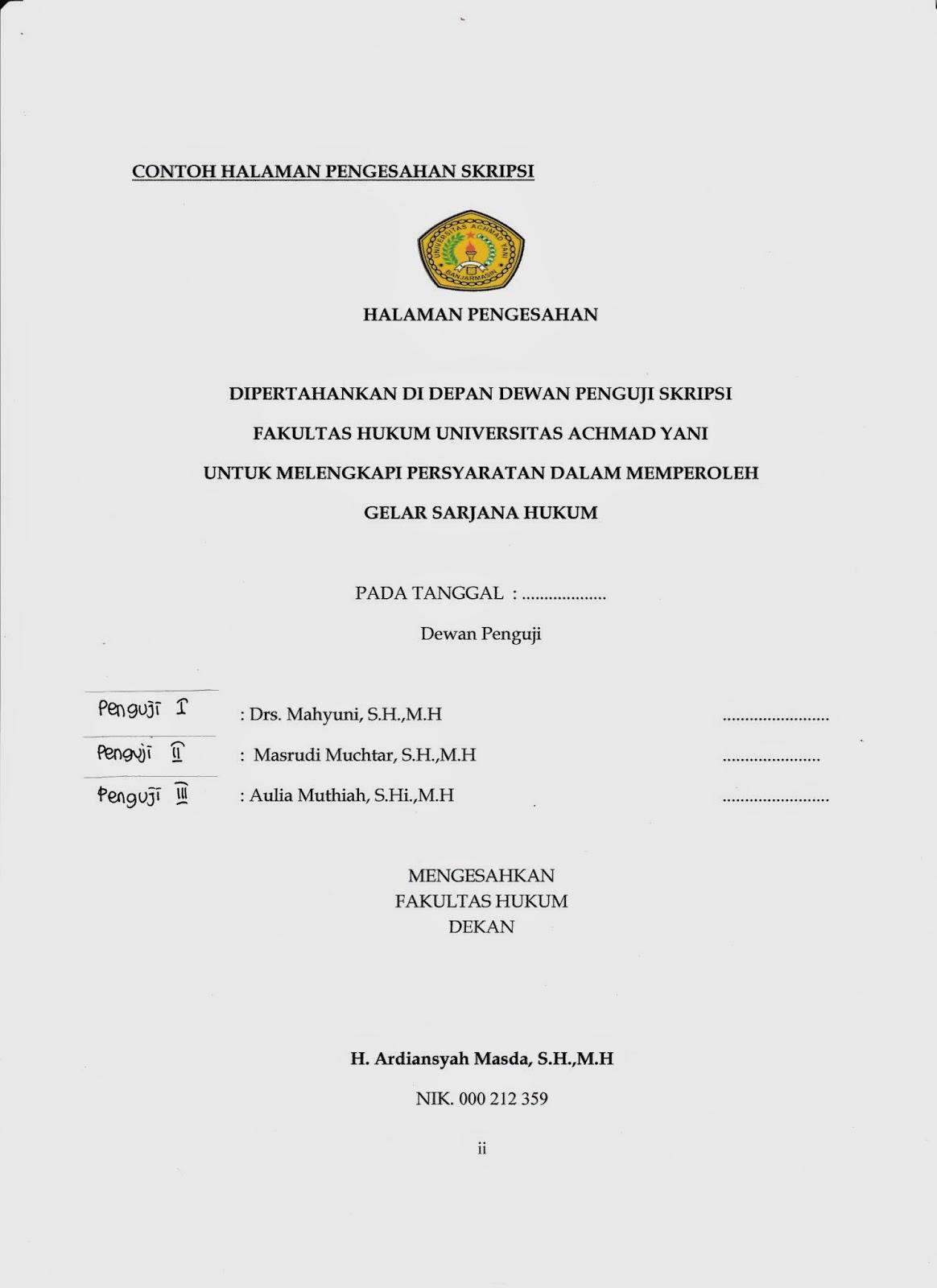 Prosedur Pengajuan Usulan Penelitian Prosedur Pengajuan Skripsi Dan