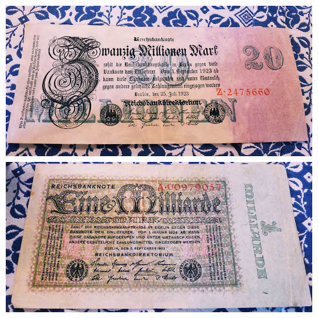 Devaluation of German Money