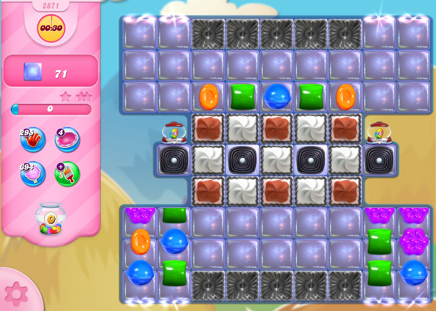 Candy Crush Saga level 2871