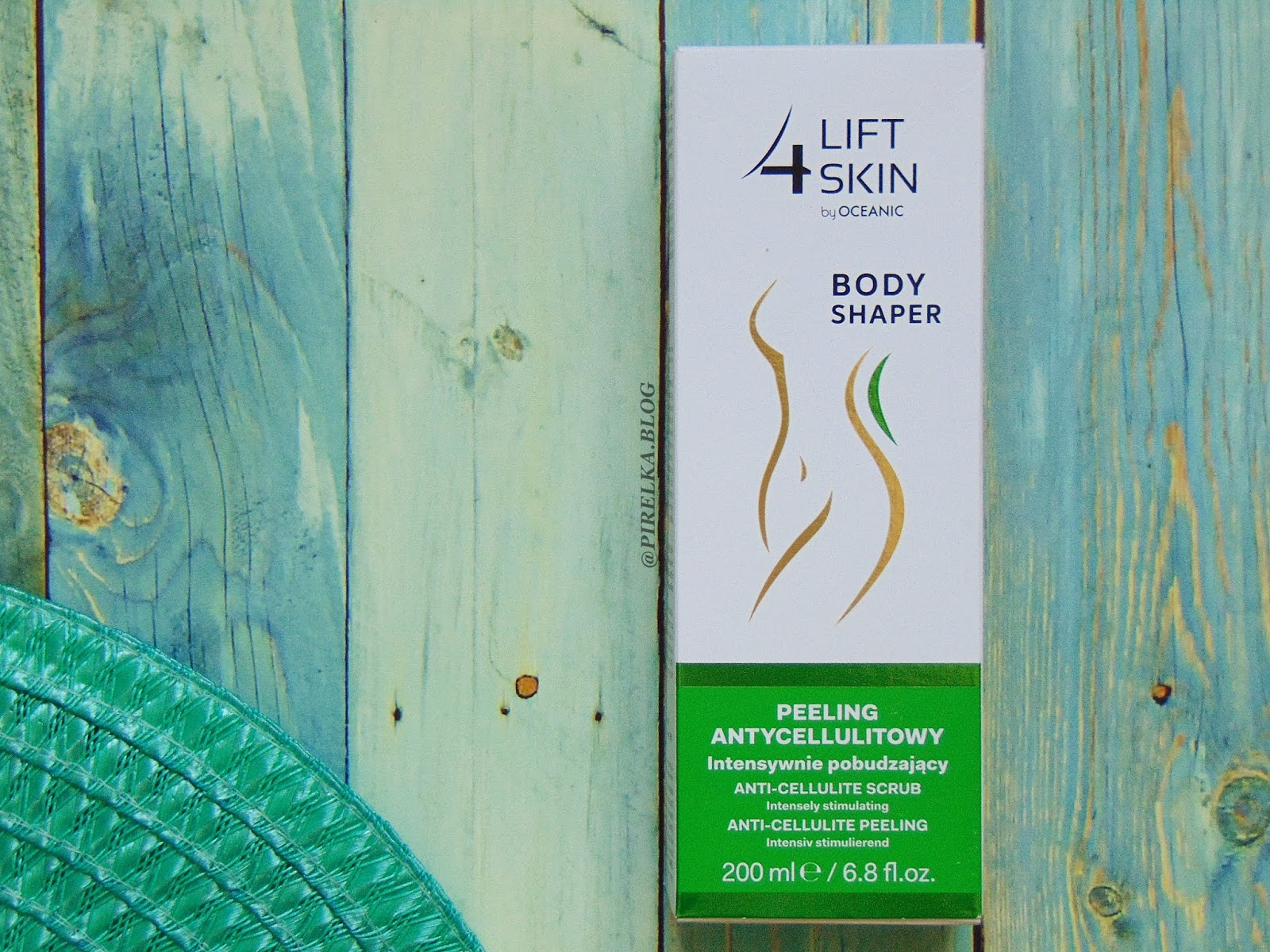 Peeling antycellulitowy intensywnie pobudzający - Lift 4 Skin, Oceanic