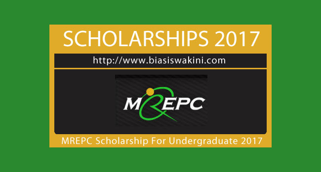 Biasiswa MREPC 2017-Scholarship Award For Undergraduate Studies 2017