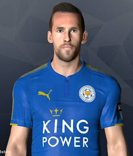 PES 2017 Faces Christian Fuchs by Facemaker Ahmed El Shenawy
