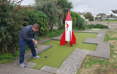 The Arnold Palmer Putting Course in Prestatyn