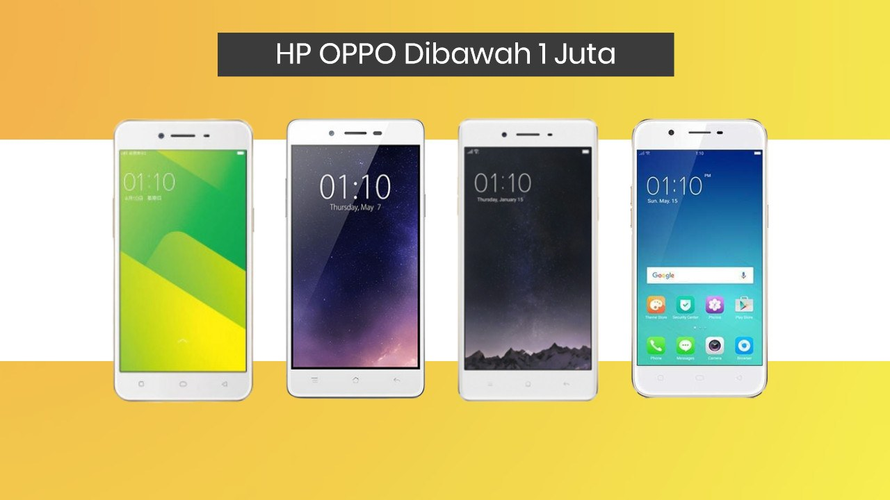 √ Daftar Harga HP Oppo Dibawah 1 Juta Termurah