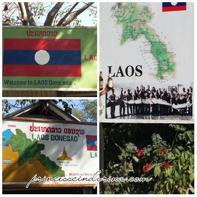 collage about Laos