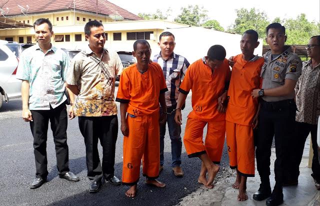 Polres Prabumulih Tangkap Tiga Tersangka Penjual Togel