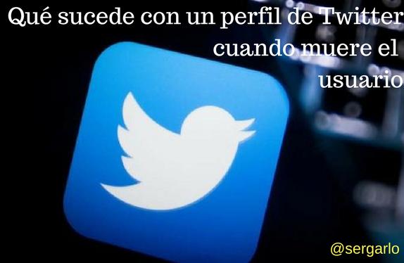 Twitter, redes sociales, perfil, social media, muerte, usuario