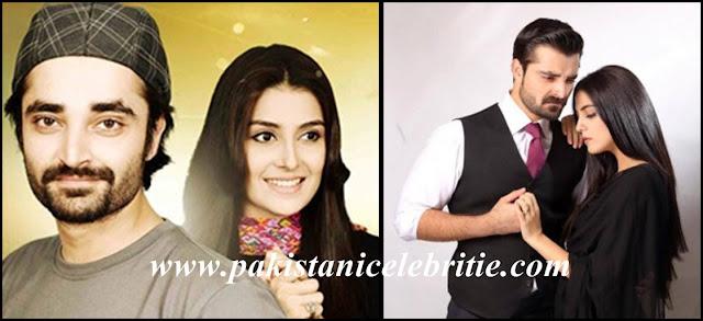Hamza with Ayeza Khan And Maya Ali