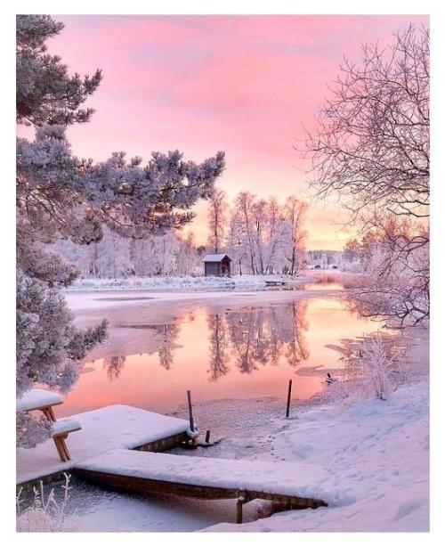 Paysages hivernaux... Neige...