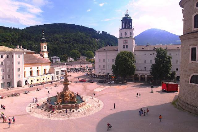 Salzburgs gamla stad