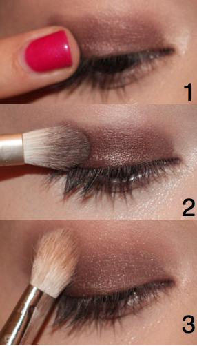 Liana Beauty: My Makeup: Quick Smokey Eye With