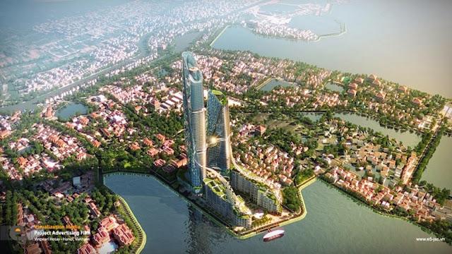 Sun Grand City Lotus Harbor – Làn gió mới lạ, độc đáo tại Hà Thành
