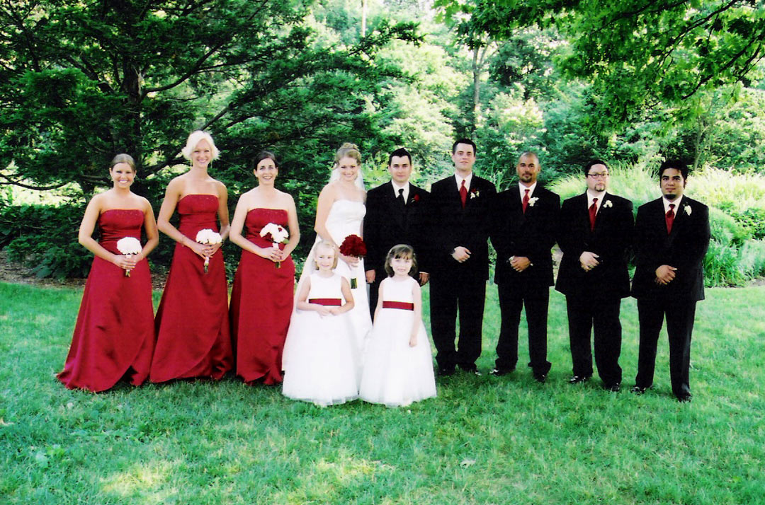 Wedding Party Photography: Bride Wedding Pictures: Bridal Party