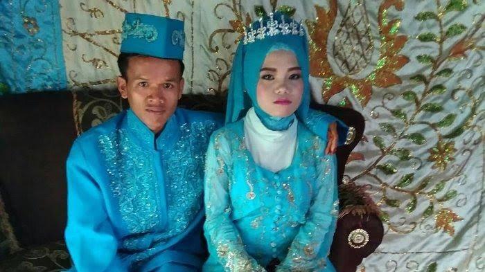 Pasangan pengantin.