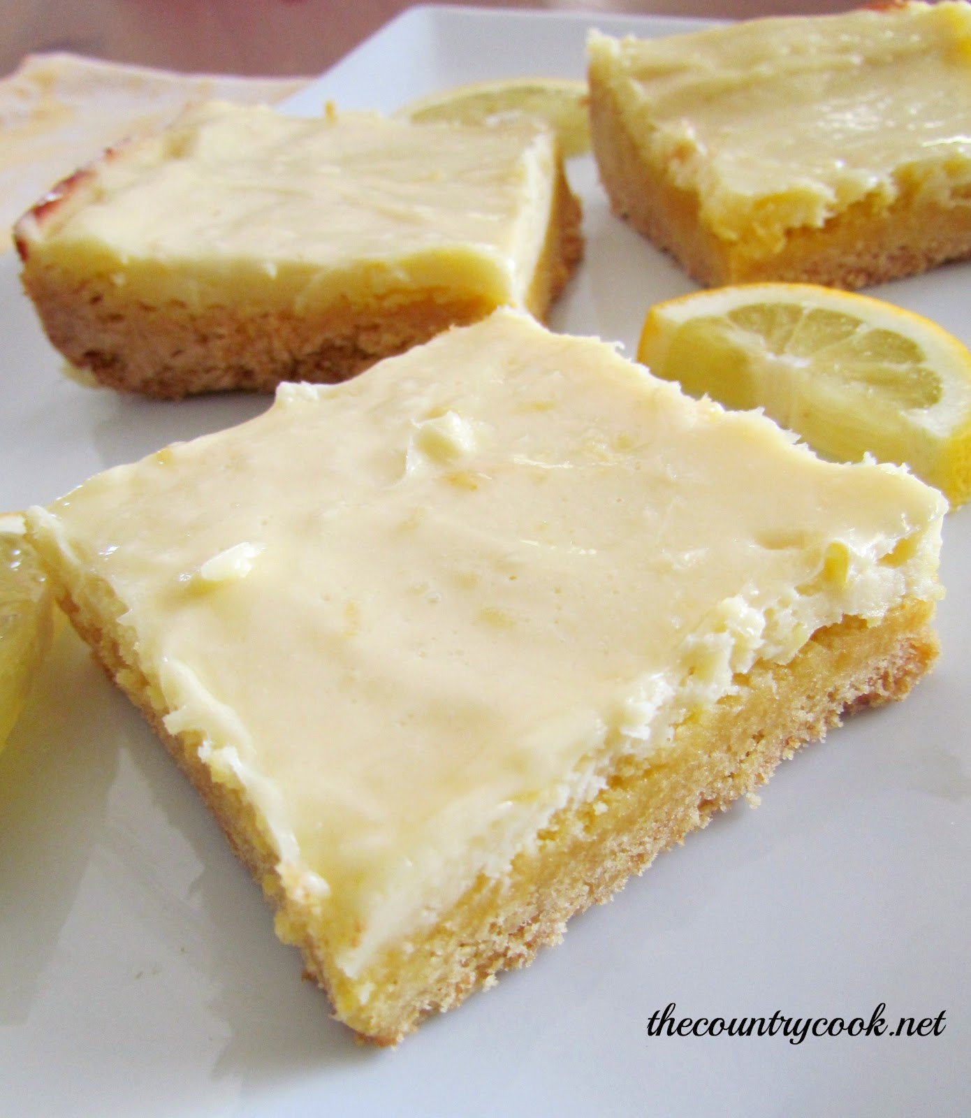 Lemon Bars With Cream Cheese And Cake Mix