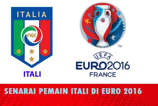 Pemain Itali EURO 2016 skuad pemain