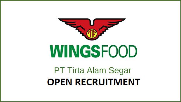Lowongan Kerja di PT Tirta Alam Segar (Wings) Untuk Lulusan SMA,SMK,Setara,D3,S1