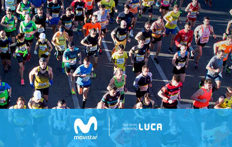 El Big Data se suma a la Movistar Media Maratón de Madrid