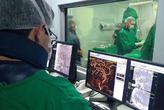 Hospital Metropolitano da Paraíba realiza primeira embolização de aneurisma
