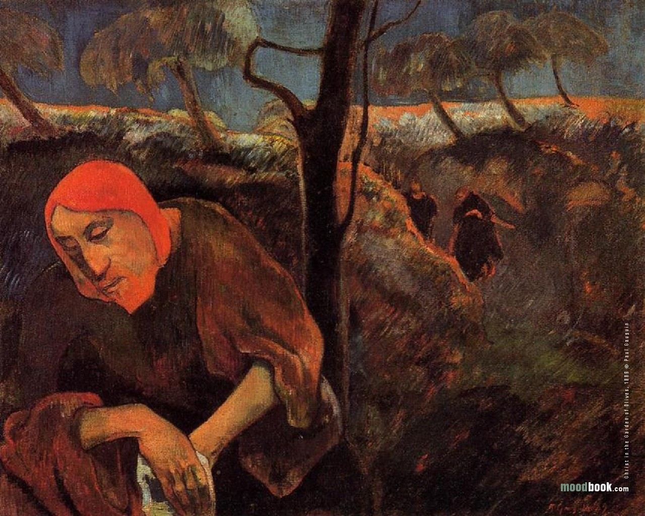 Why would a dissolute rebel like Paul Gauguin paint a nativity?